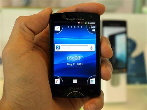 Handphone Sony Xperia Mini sony ericsson xperia mini spesifikasi