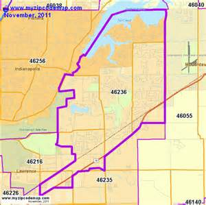 Indianapolis In Zip Code Map by Zip Code Map Of 46236 Demographic Profile Residential
