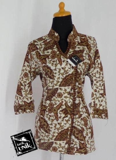 Batik Gamis Kipas baju batik sarimbit motif daun kipas blus lengan