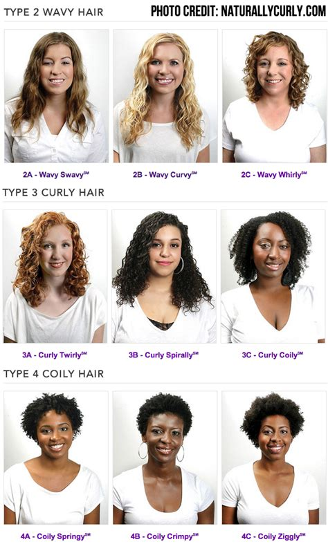 Types Of Curly Hair curly haired s guide to hair products and hair care