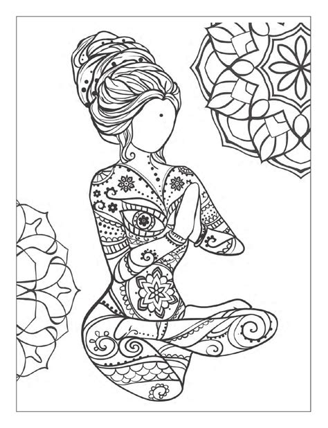 meditative coloring and meditation coloring book for adults with