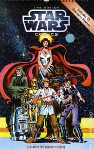 comic books in star wars