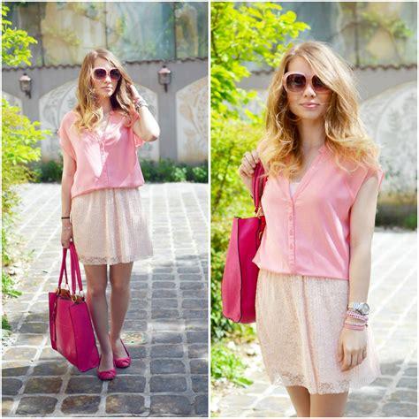 Stradivarius Blouse Pink julie p bershka blouse stradivarius skirt blanco flats