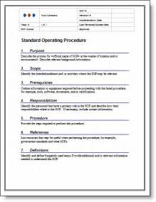 free 30 page standard operating procedure writing course