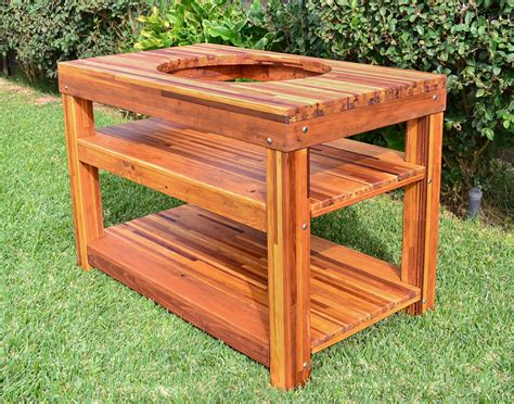 table with built in grill custom outdoor table with built in grill made in u s a