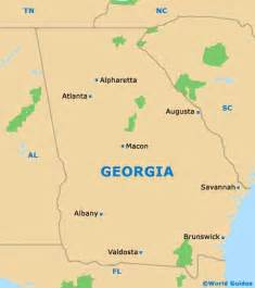 where is atlanta on the map of usa maps and orientation ga usa