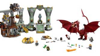 comic lego unveil smaug centric hobbit exclusive hollywood reporter