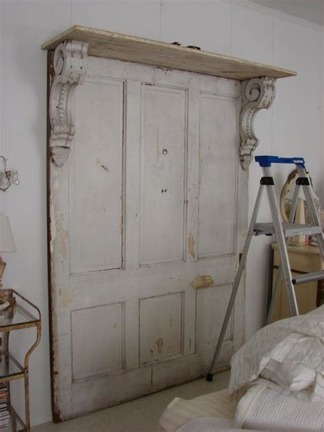 vintage door headboard old door as a headboard repurposed pinterest