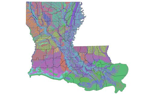 louisiana interactive map interactive map of louisiana s geology and water resources