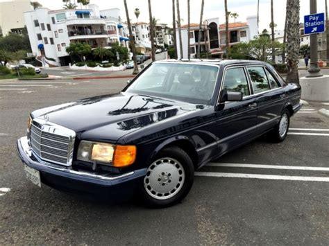 mercedes 300sel 1990 1990 mercedes 300sel w126 6 cyl classic excellent