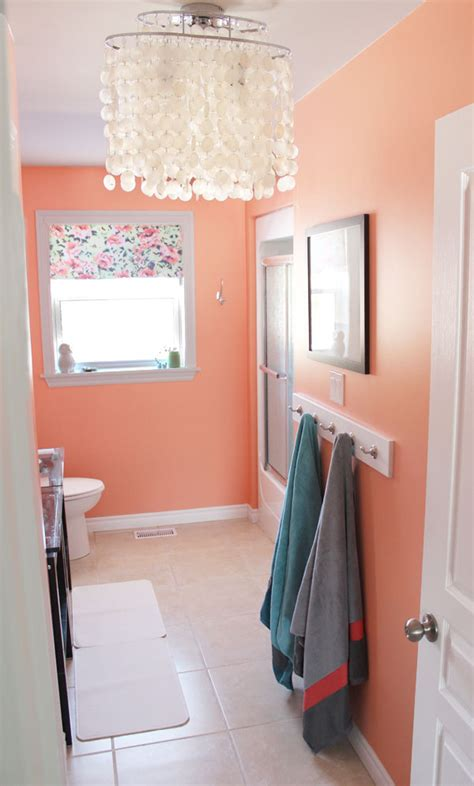 coral bathrooms a must see 150 bathroom makeover fynes designs fynes