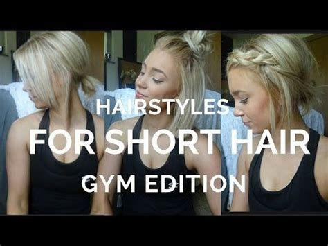 12 easy hairstyles for short hair ♡ youtube | hairstyles