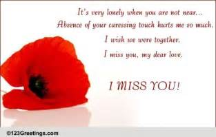when you miss someone free missing him ecards greeting