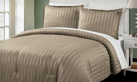 polo down comforter 39 for a striped three piece comforter set groupon