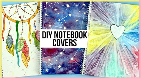 The Catcher Notebook diy notebooks for back to school how to paint a