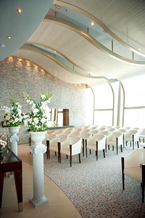 The beautiful wedding chapel onboard Allure of the Seas