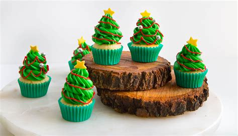 christmas tree cupcakes queen fine foods