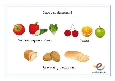 fichas alimentos infantil fichas alimentaci 243 n ni 241 os en primaria alimentacion