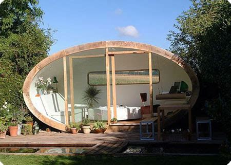 modern eco pod tiny house by pod space architectural ingenuity move with us