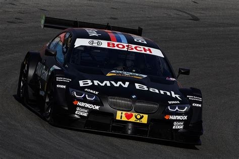 bmw bank foto hockenheim 2 april 2012 bmw motorsport bmw m3