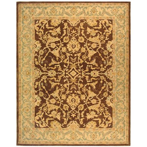 Rugs 6 Ft by Safavieh Anatolia Brown 9 Ft 6 In X 13 Ft 6 In