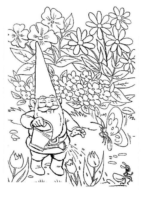 coloring pictures of garden gnomes garden gnome coloring download garden gnome coloring