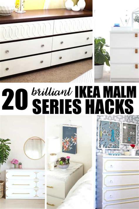 malm hack 20 brilliant ikea malm series hacks simply stacie