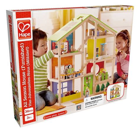 hape doll house hape all season doll house furnished minds alive toys crafts books