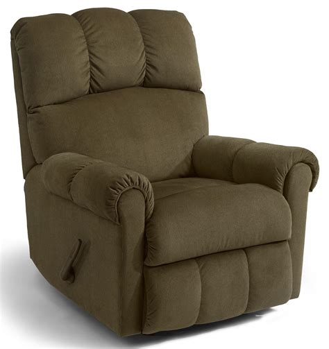 flexsteel recliners dealers flexsteel mcgee casual recliner with channel tufted back