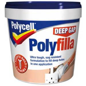 Home Interior Paints by Polycell Trade Polyfilla 1 Fill L W Tub 4l