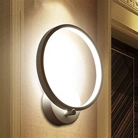 applique da parete moderni lightess lada da parete elegante a led 12w stile