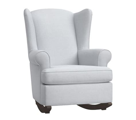 rocking chair and ottoman for nursery wingback rocker and ottoman nursery rocking chair