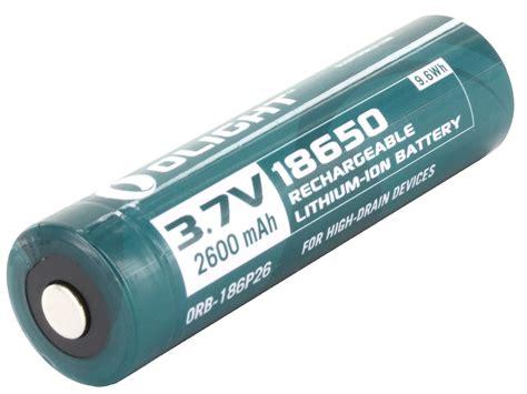 Item Efest 18650 Li Ion Unprotected Battery 2600mah 37v With Fla olight 18650 li ion button top battery 2600mah 3 7v