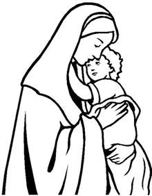 crying mary coloring page coloring pages