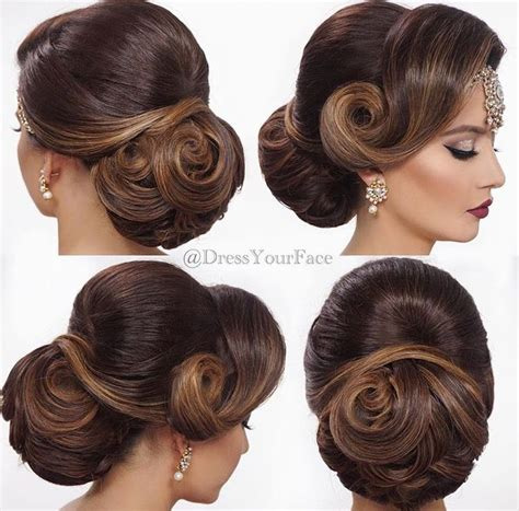 Hairstyles For Indian Wedding by Hairstyles For For Indian Wedding Www Pixshark