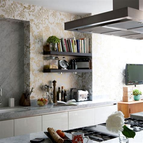 kitchen wallpaper ideas uk metalic wallpaper kitchen wallpaper kitchen design