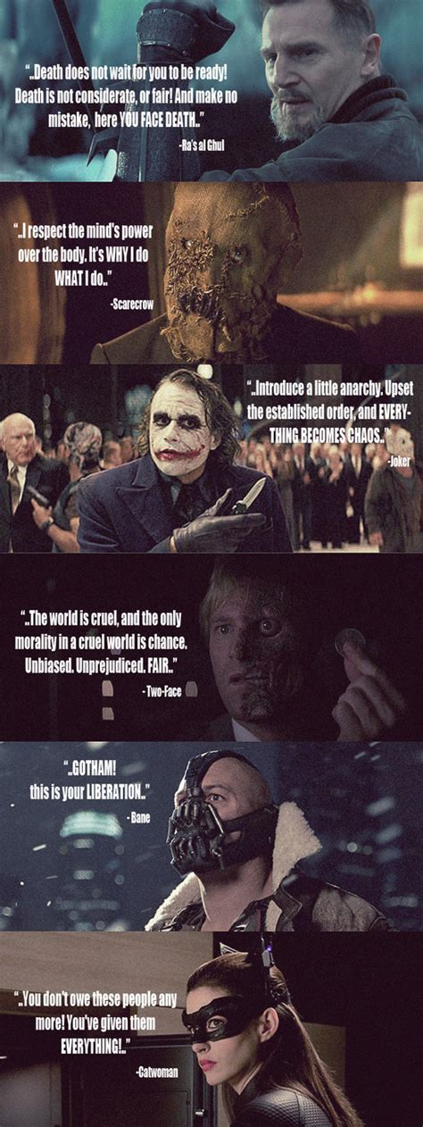 film quotes batman quotes about heroes and villains quotesgram