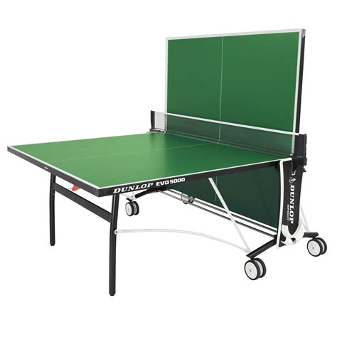 dunlop evo 7000 outdoor table tennis table incl