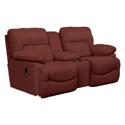 reclining loveseat with middle console la z boy 711 asher la z time full reclining loveseat with