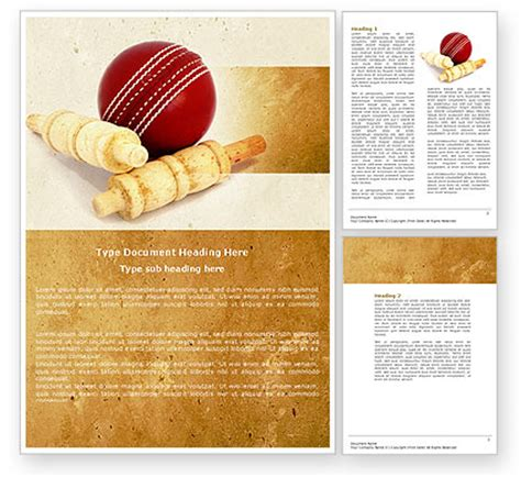ppt templates for cricket free download cricket ball word template 04662 poweredtemplate com