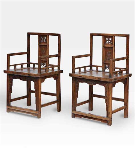 sedie cinesi coppia di antiche sedie cinesi anticswiss