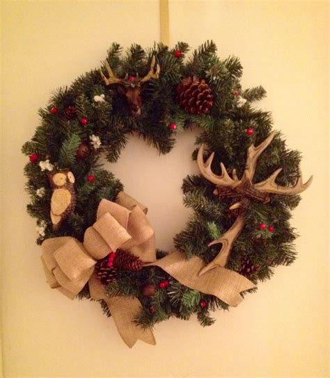 country christmas wreath craft ideas pinterest