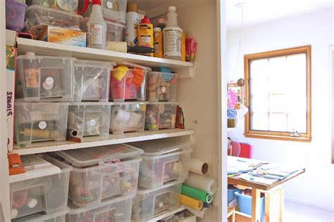 Kitchen Pantry Ideas For Small Spaces space to create a home art studio for kids babble dabble do