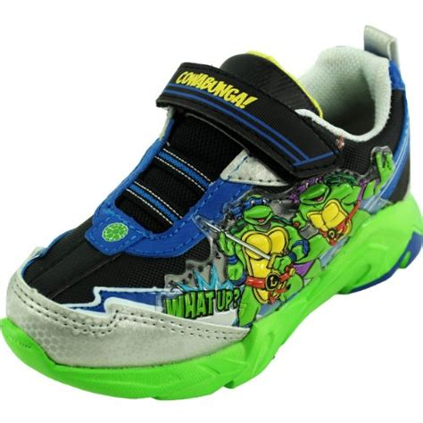 Turtle Light Up Shoes mutant turtles light up shoes sneakers blue