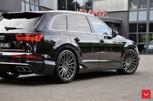 Audi Q7 Custom Abt Audi Qs7 Puts On 22 Quot Custom Wheels In The Netherlands