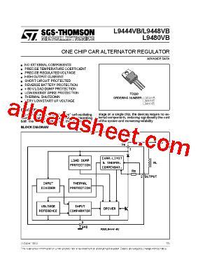 l9444 데이터시트 pdf stmicroelectronics