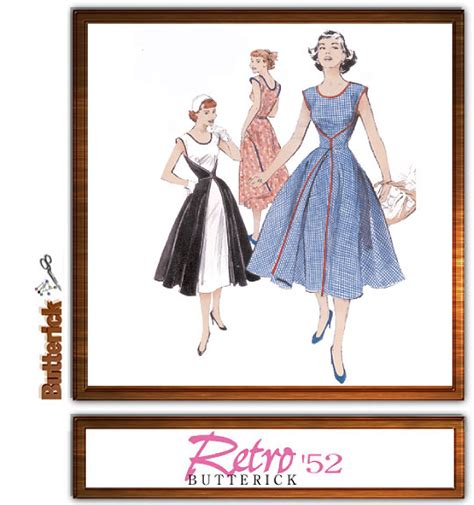 pattern review butterick 4790 butterick 4790 repro 1950 s dress aka the walkaway