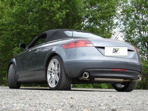 Audi Tt 8j Sportauspuff by Fox Duplex Sportauspuff Auspuff Audi Tt 8j Coup 233 3 2l V6