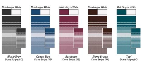 dometic awning colors fabric and hardware colors carefree of colorado