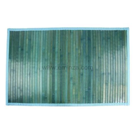 tappeto bagno cotone con listelli bamb 249 tappeto